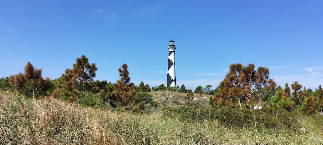 A view of Crystal Coast's lighthouse gem - Cape Lookout