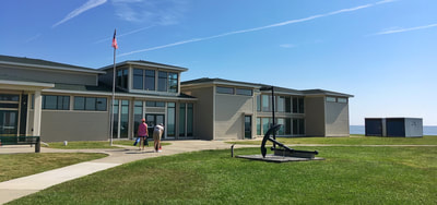 The Cape Lookout Visitor's Center on Harkers Island, NC