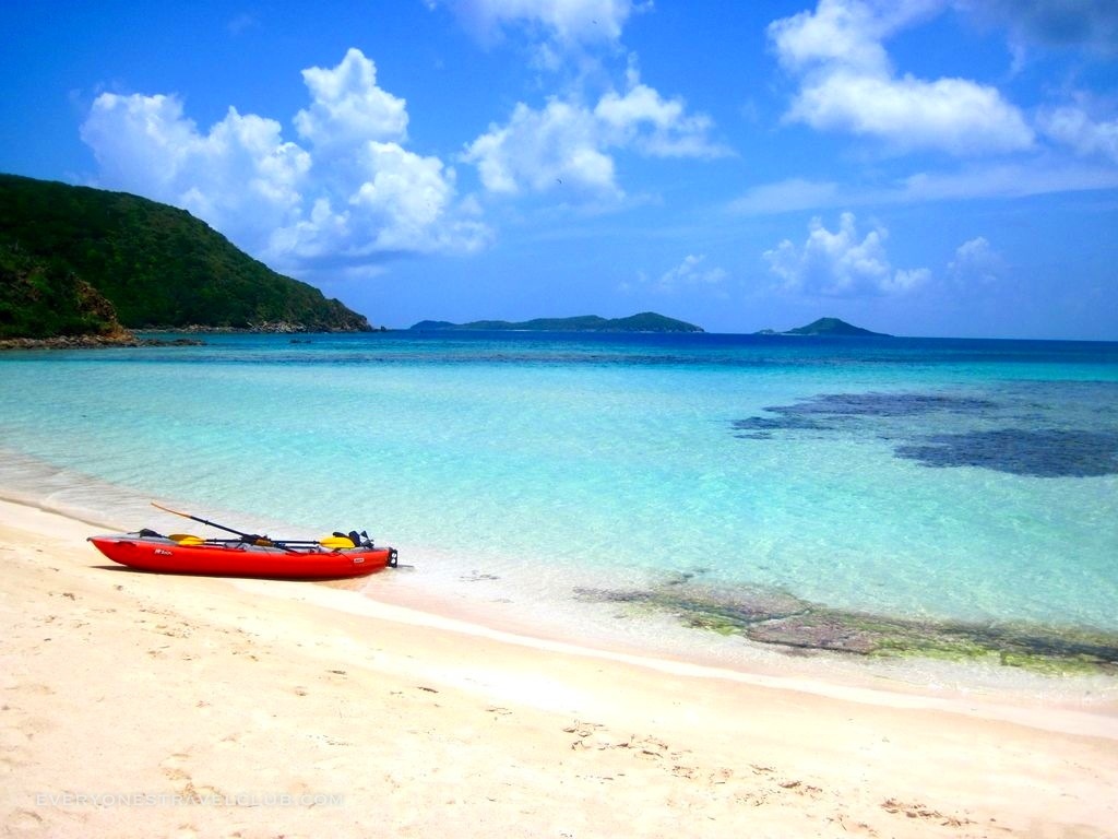 Innova Kayak's Helios 2 pictured in the beautiful British Virgin Islands.