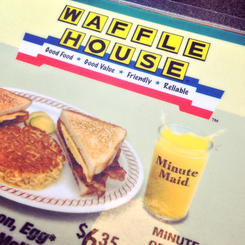 Waffle House is one of the best reasons to live in the South