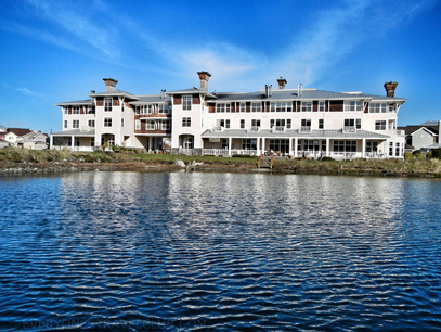 The Resort at Port Ludlow, view from the water