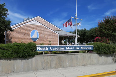 The North Carolina Maritime Museum in downtown Beaufort, NC.
