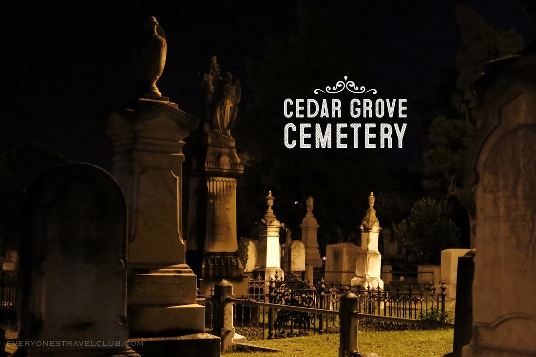New Bern's annual Ghostwalk at the Cedar Grove Cemetery