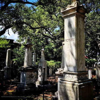 The Old Burying Ground in Beaufort, North Carolina